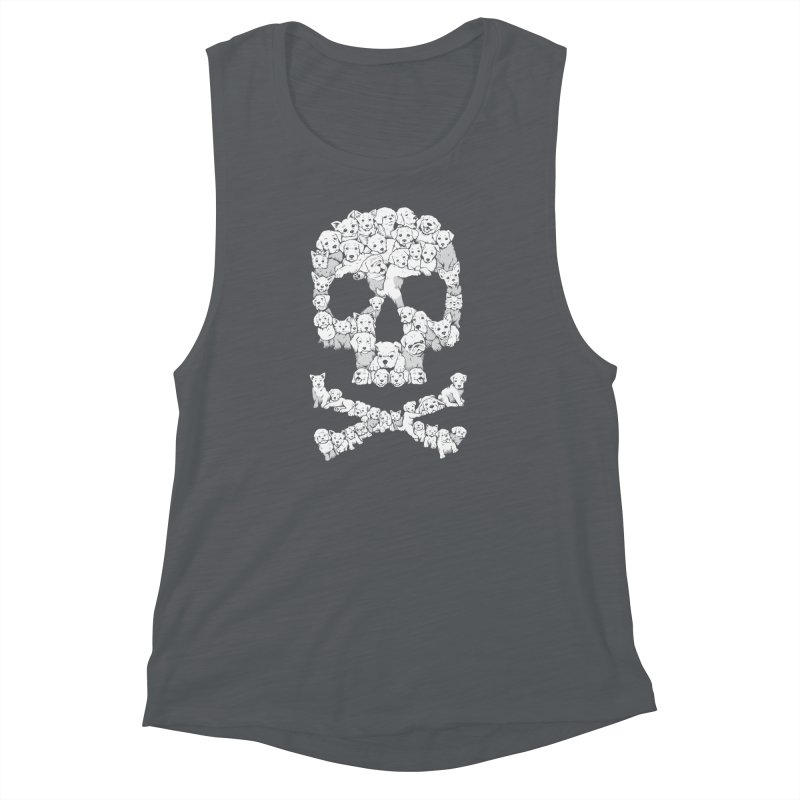 Pawsitively Bitchin Women's Muscle Tank by harebrained's Artist Shop
