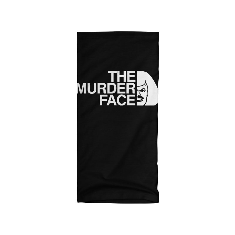 The Murder Face Logo Accessories Neck Gaiter by harebrained's Artist Shop