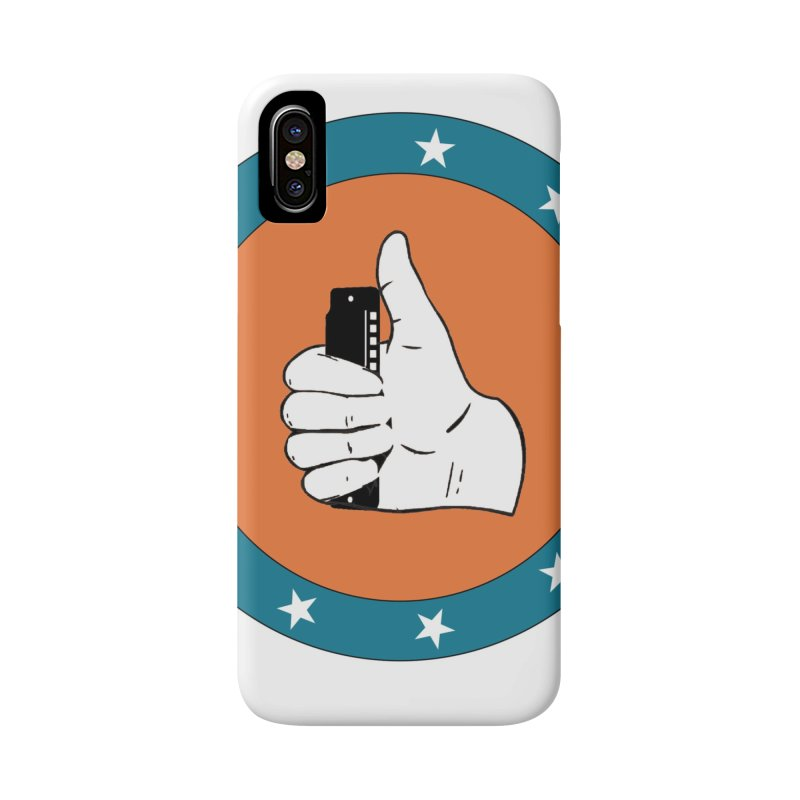 Thumb Up in iPhone X Phone Case Slim by Harmonica's Shop