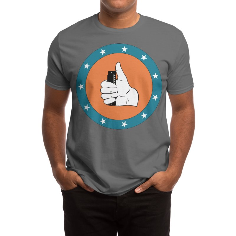 Thumb Up Men's T-Shirt by Harmonica's Shop