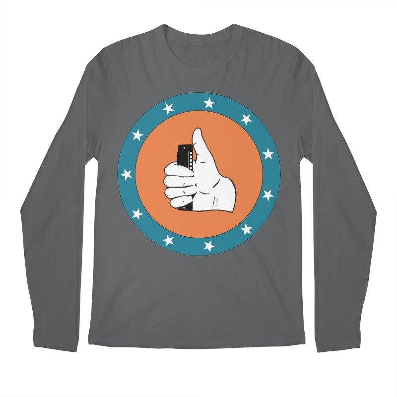 Thumb Up Men's Regular Longsleeve T-Shirt by Harmonica's Shop