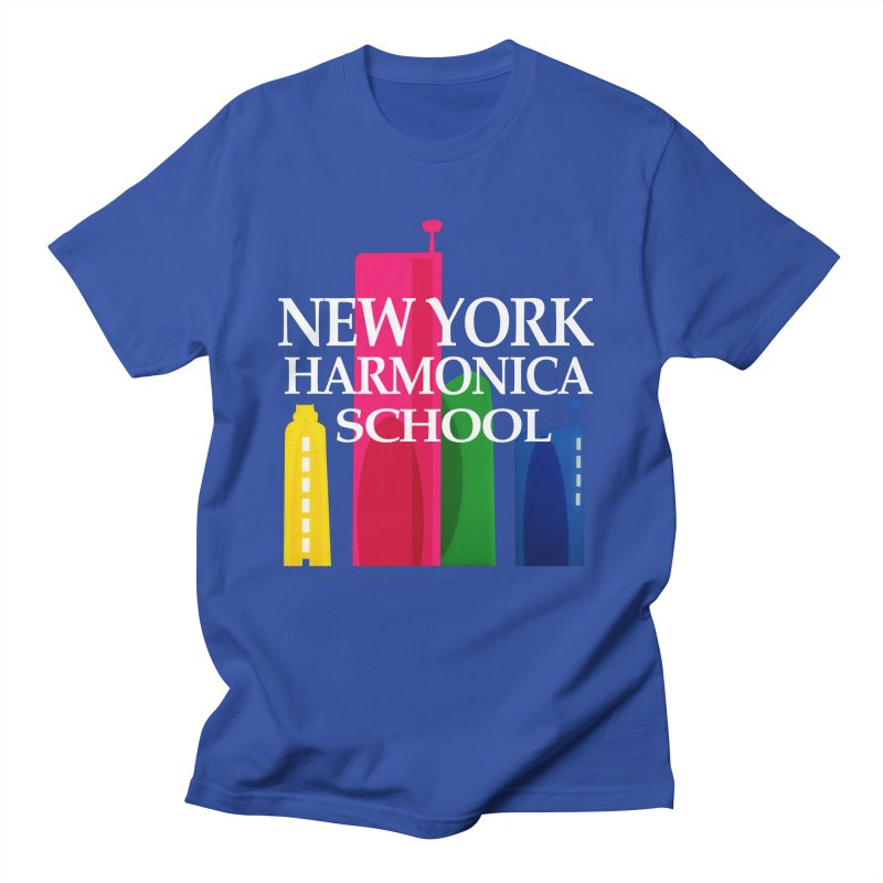 New York Harmonica School Men's T-Shirt by Harmonica's Shop