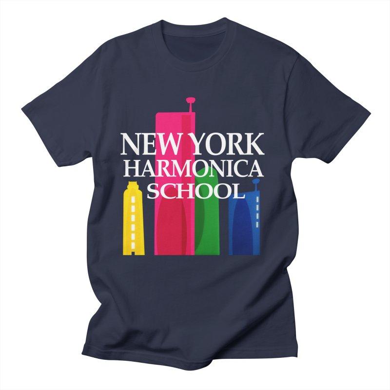 New York Harmonica School Men's Regular T-Shirt by Harmonica's Shop