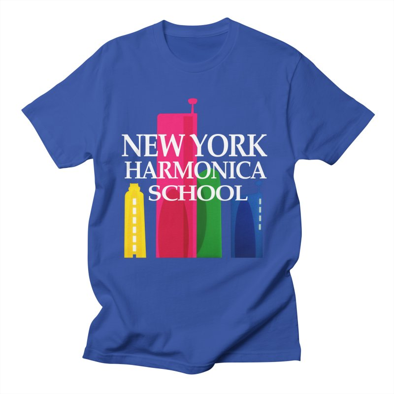 New York Harmonica School Men's Regular T-Shirt by Harmonica's Shop