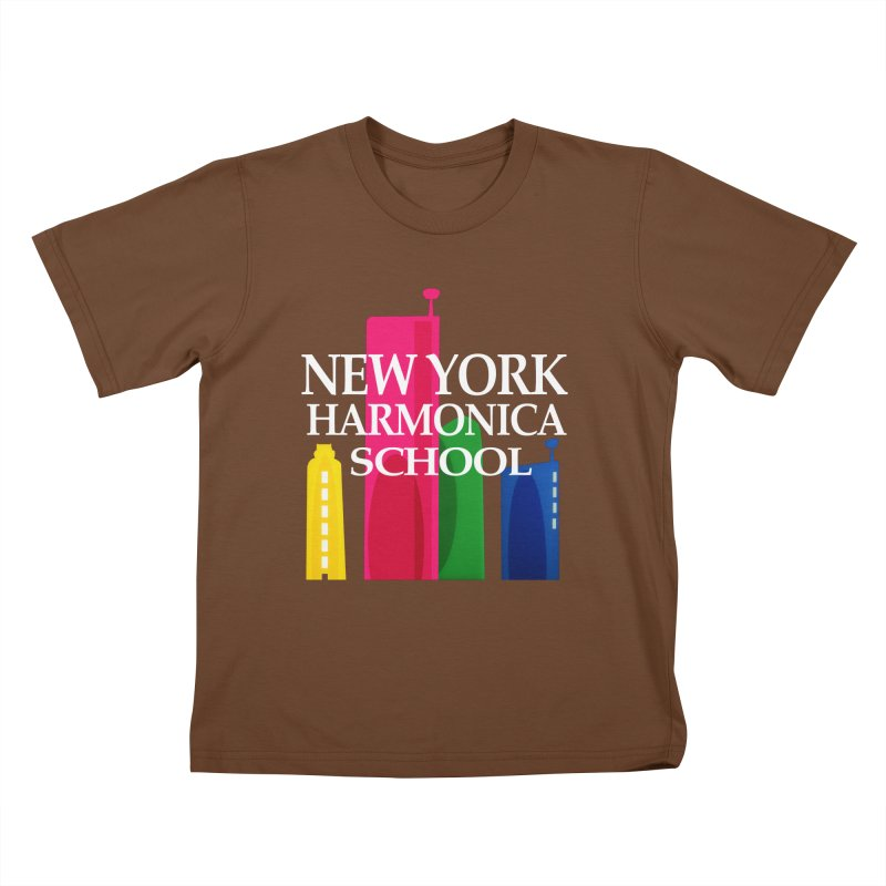 New York Harmonica School Kids T-Shirt by Harmonica's Shop