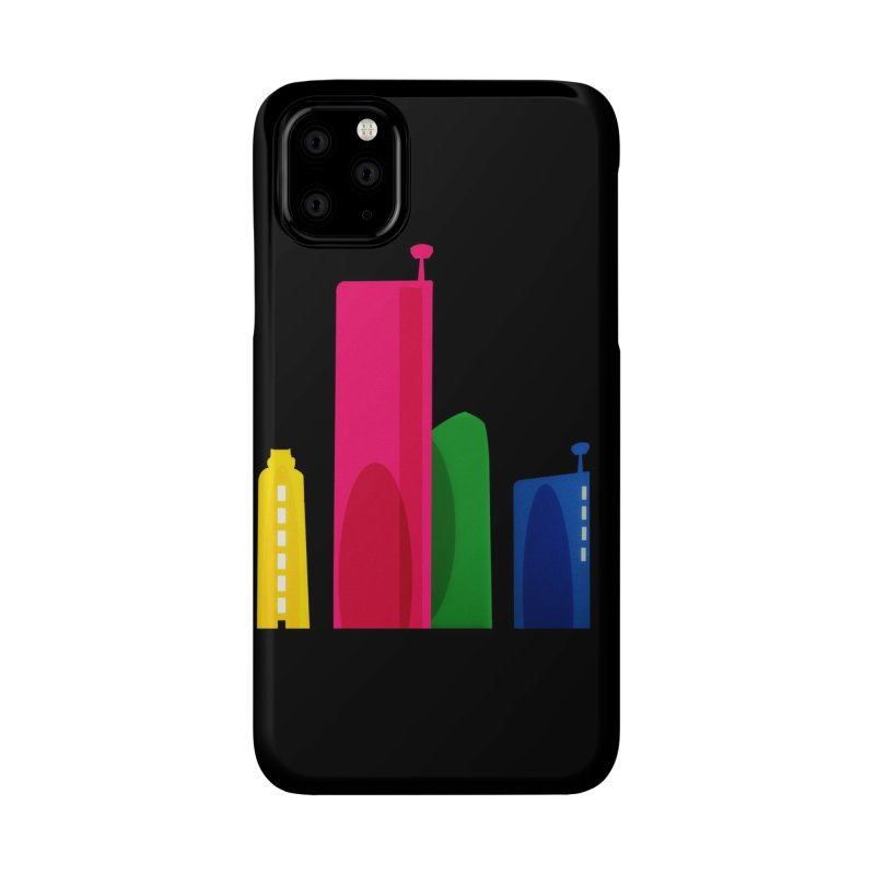 Harp Skyline Accessories Phone Case by Harmonica's Shop