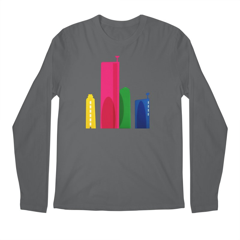 Harp Skyline Men's Longsleeve T-Shirt by Harmonica's Shop