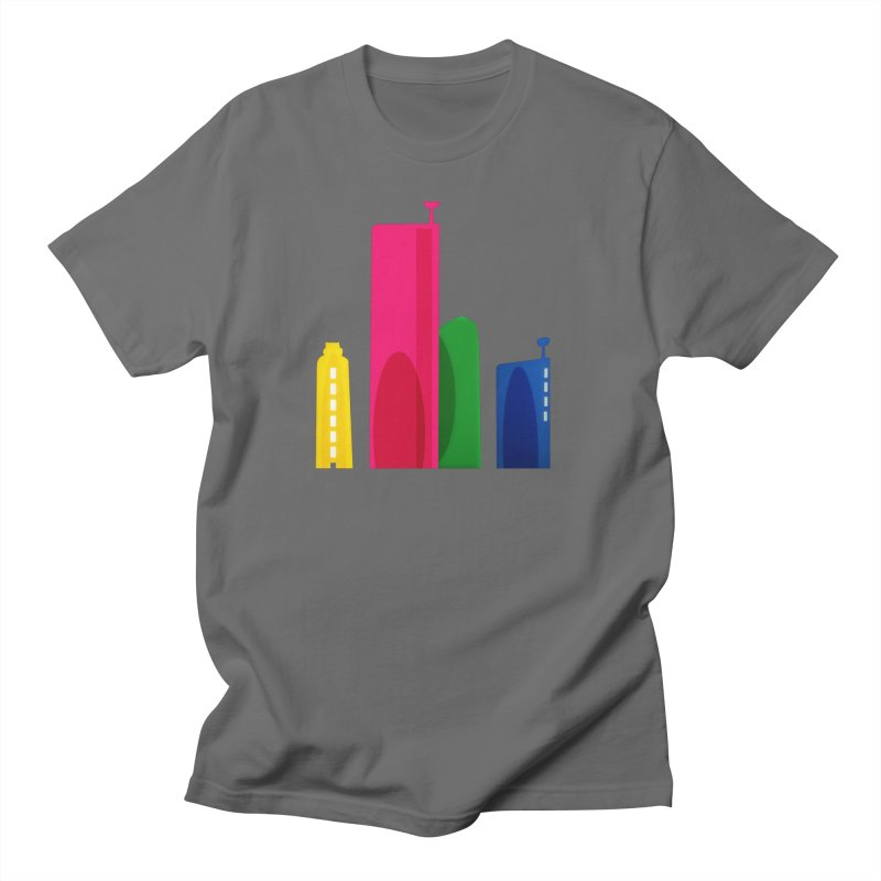 Harp Skyline Men's T-Shirt by Harmonica's Shop