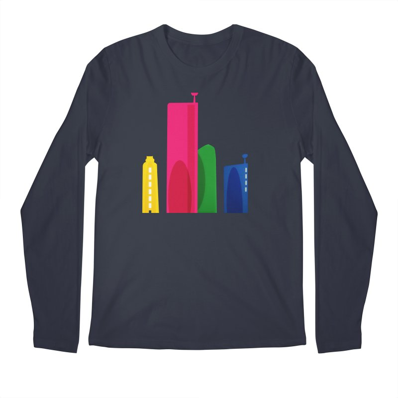 Harp Skyline Men's Regular Longsleeve T-Shirt by Harmonica's Shop