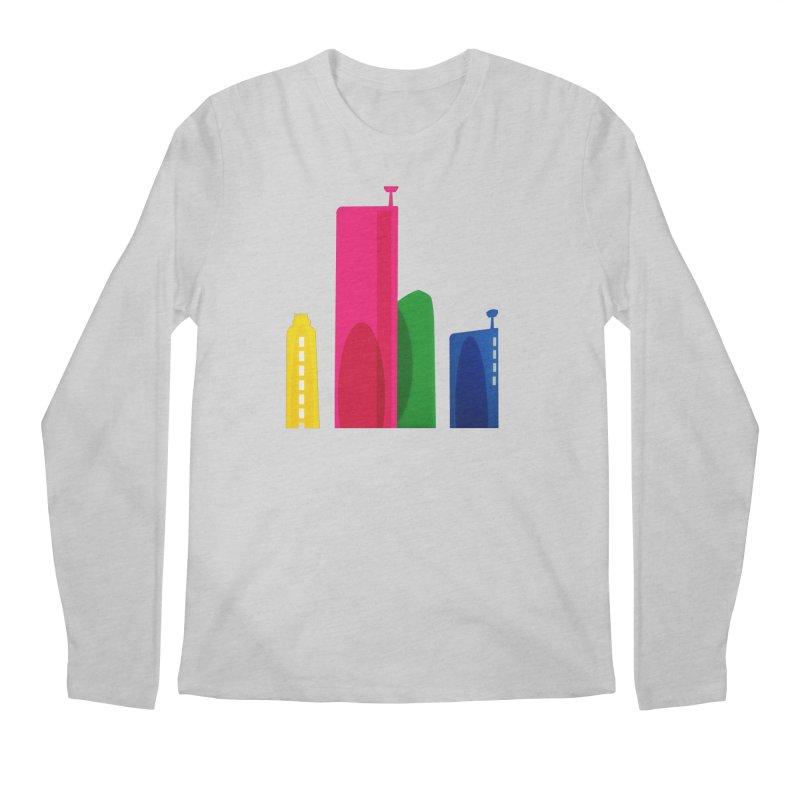 Harp Skyline Men's Regular Longsleeve T-Shirt by Harmonica's Shop
