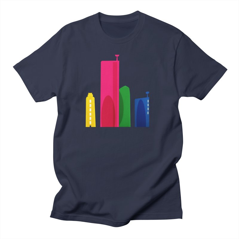 Harp Skyline Men's Regular T-Shirt by Harmonica's Shop