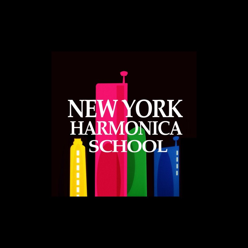 New York Harmonica School Black by Harmonica's Shop