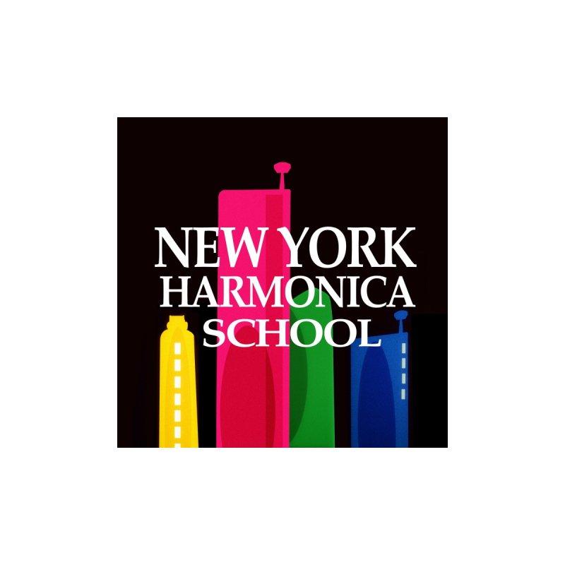 New York Harmonica School Black by Harmonica's Shop