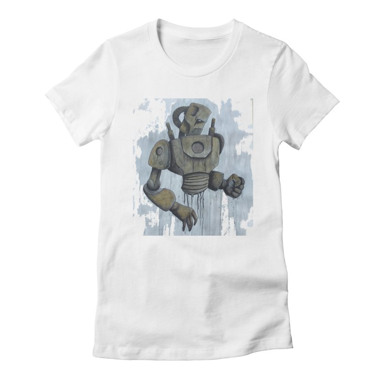 Full Metal Antique Women's Fitted T-Shirt by harvestmoon's Artist Shop