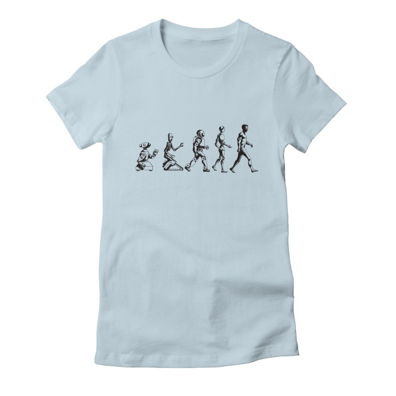 Darwin's Th3ory Women's Fitted T-Shirt by harvestmoon's Artist Shop