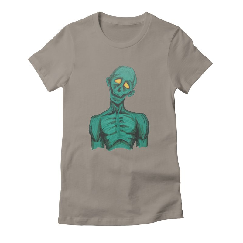 The Undead Women's Fitted T-Shirt by harvestmoon's Artist Shop