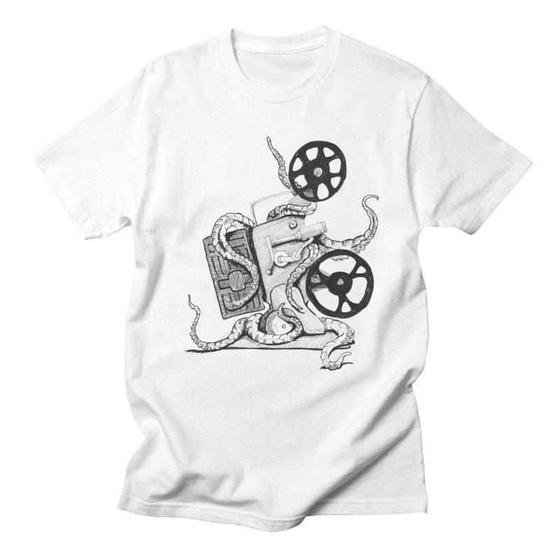 Science Fiction Men's T-shirt by harvestmoon's Artist Shop