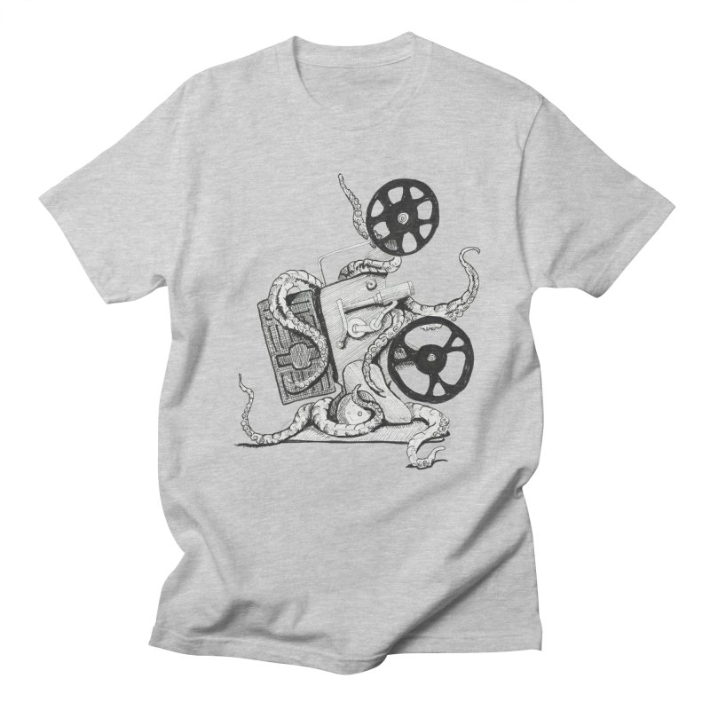 Science Fiction Men's Regular T-Shirt by harvestmoon's Artist Shop