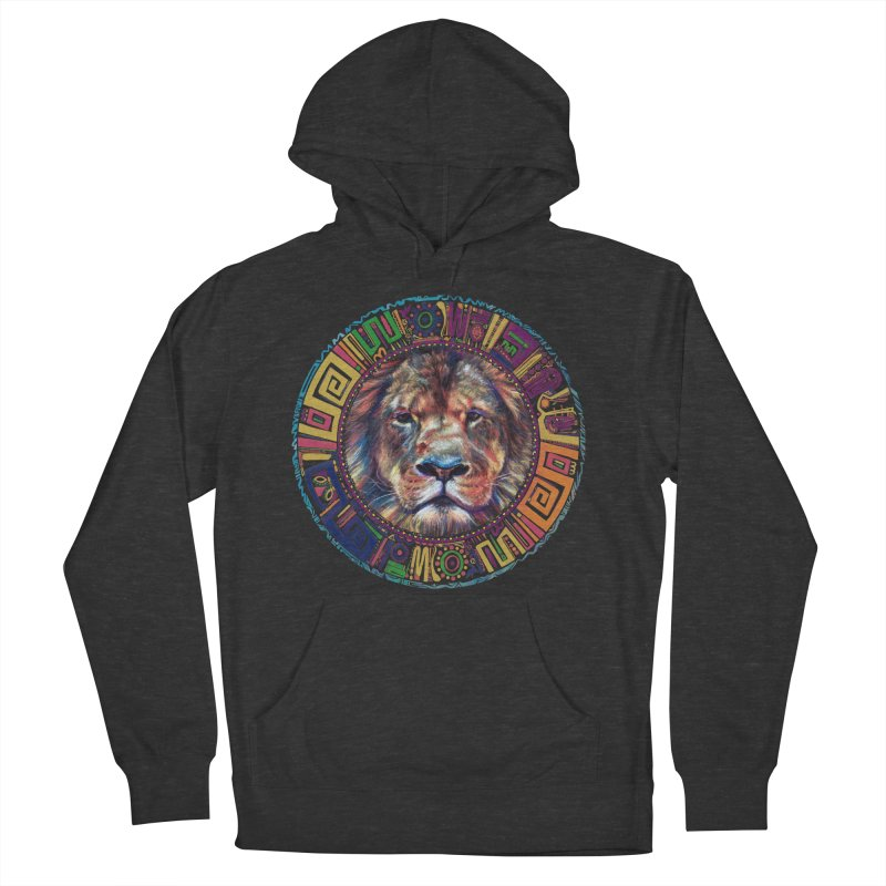 lion Mendala Women's Pullover Hoody by Hasan's Crib