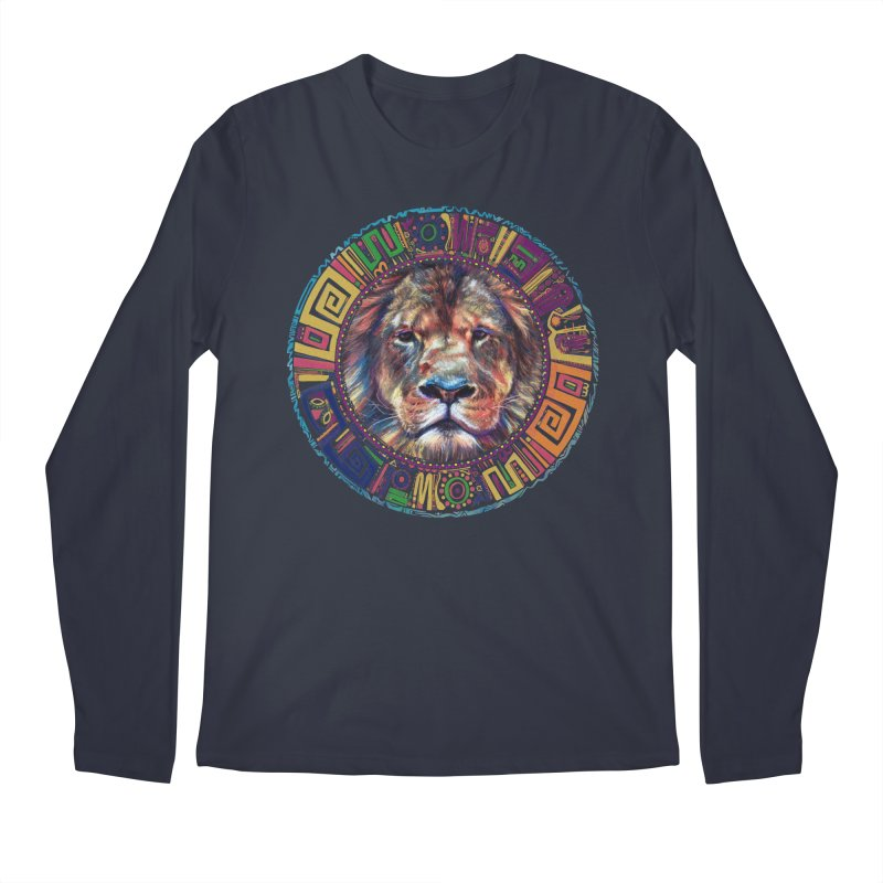 lion Mendala Men's Longsleeve T-Shirt by Hasan's Crib