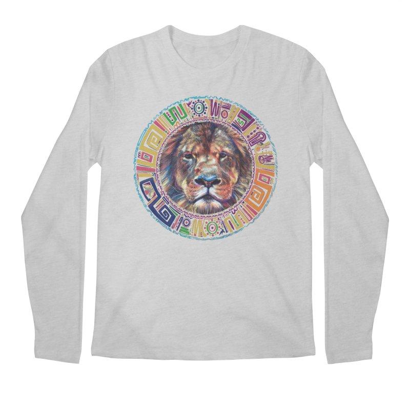 lion Mendala Men's Longsleeve T-Shirt by Hasan's Crib