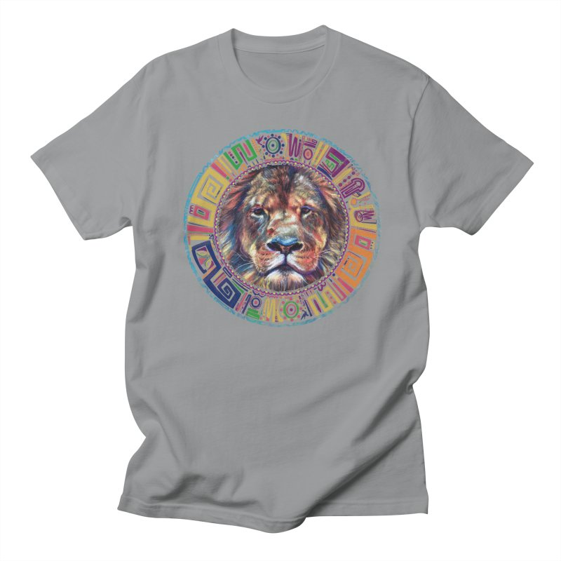 lion Mendala Men's T-shirt by Hasan's Crib