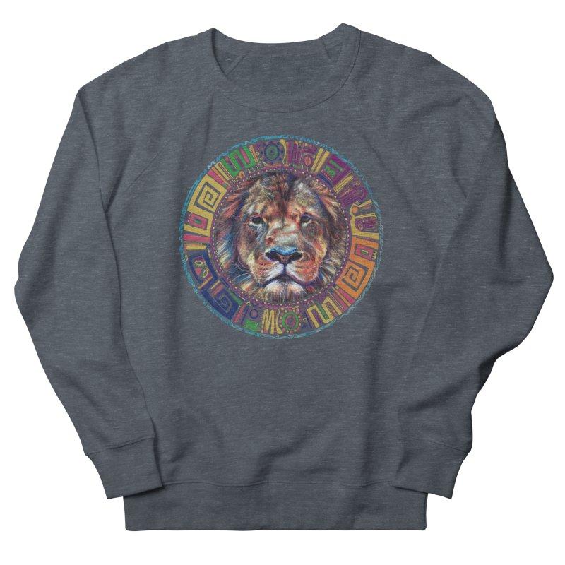 lion Mendala Women's Sweatshirt by Hasan's Crib