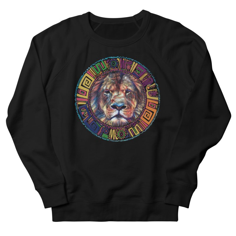lion Mendala Women's Sweatshirt by Hasan's Crib
