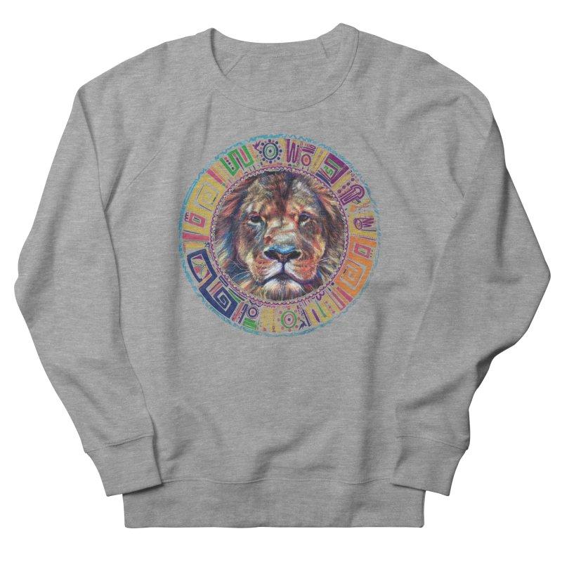 lion Mendala Men's Sweatshirt by Hasan's Crib