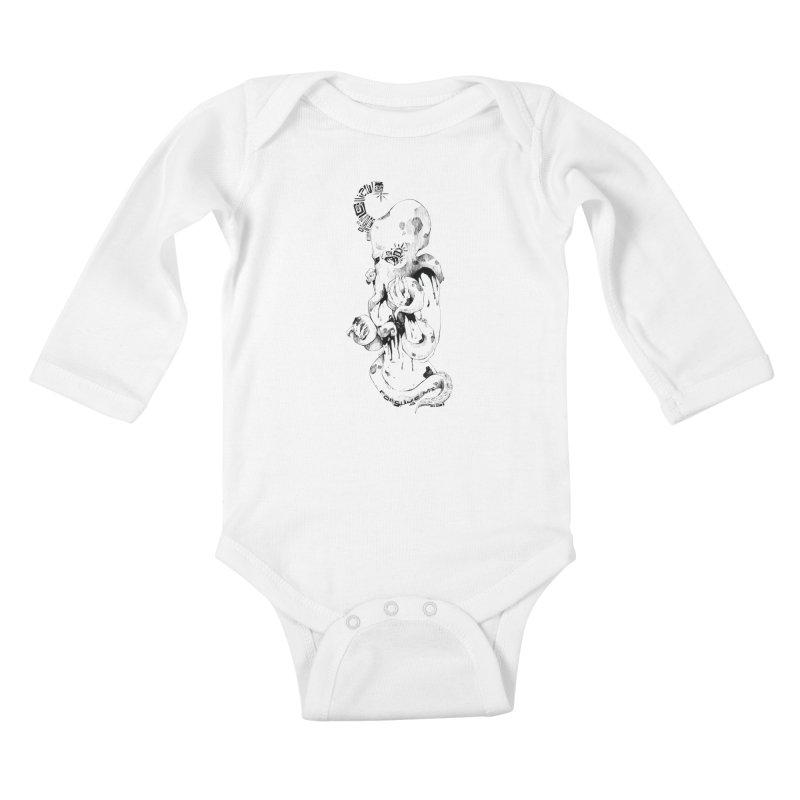 consume Me Kids Baby Longsleeve Bodysuit by Hasan's Crib