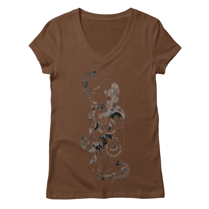consume Me Women's V-Neck by Hasan's Crib