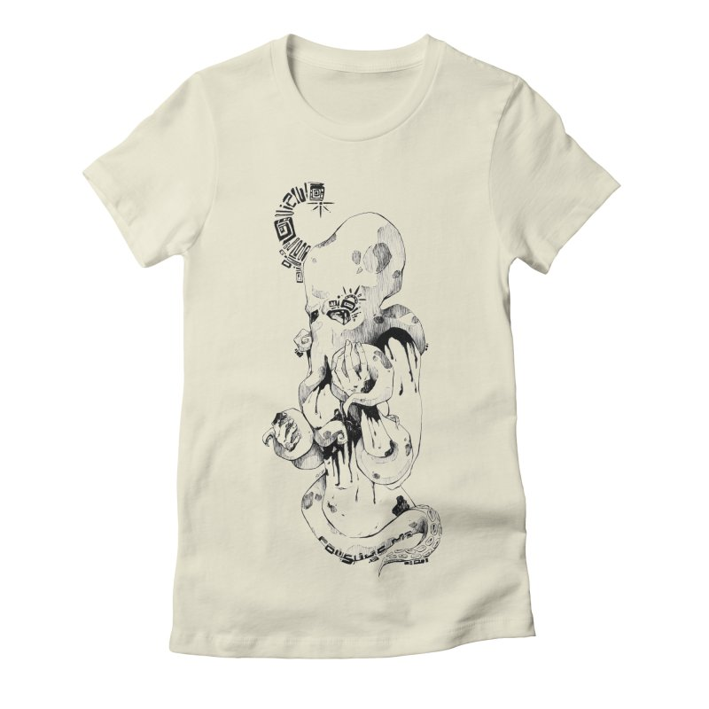 consume Me Women's Fitted T-Shirt by Hasan's Crib