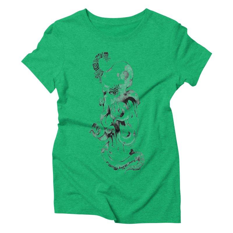 consume Me Women's Triblend T-shirt by Hasan's Crib