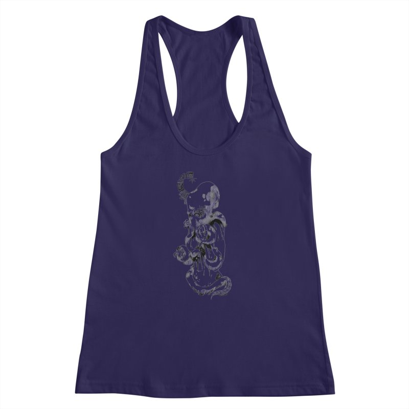 consume Me Women's Racerback Tank by Hasan's Crib