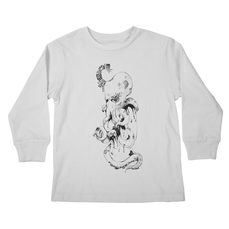 consume Me Kids Longsleeve T-Shirt by Hasan's Crib