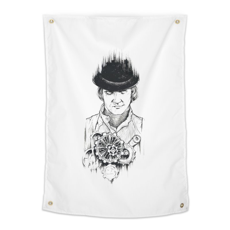 clockwork Alex Home Tapestry by Hasan's Crib
