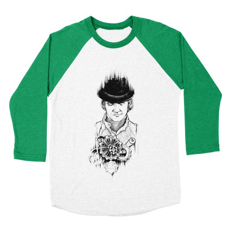 clockwork Alex Women's Baseball Triblend T-Shirt by Hasan's Crib