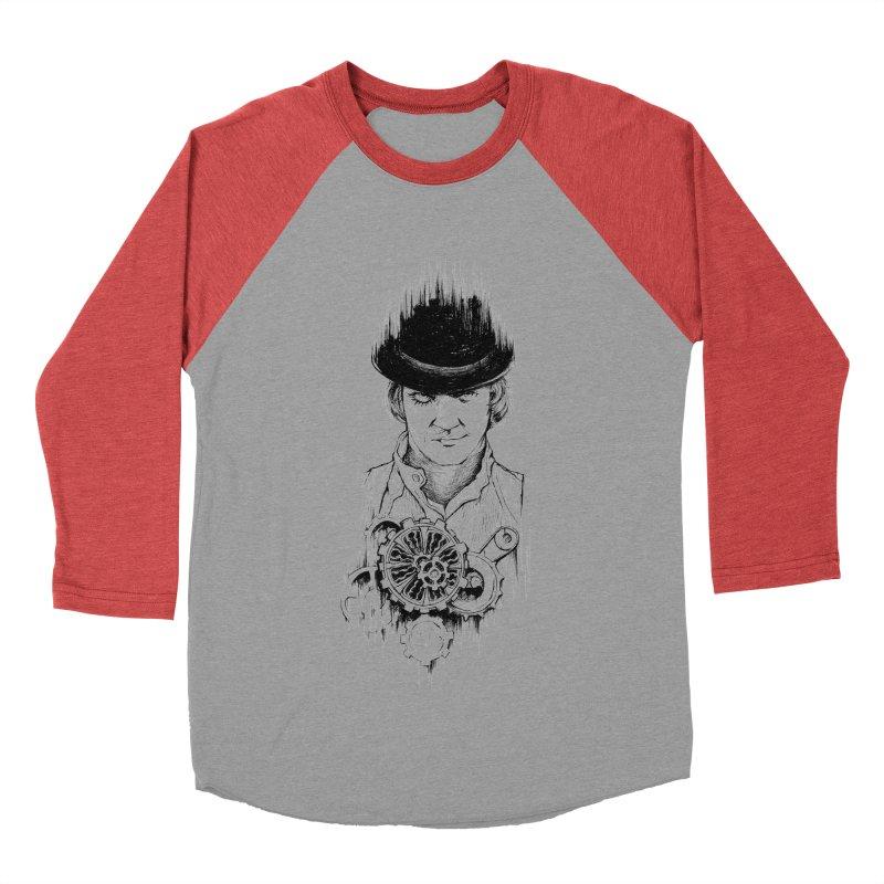 clockwork Alex Men's Baseball Triblend T-Shirt by Hasan's Crib