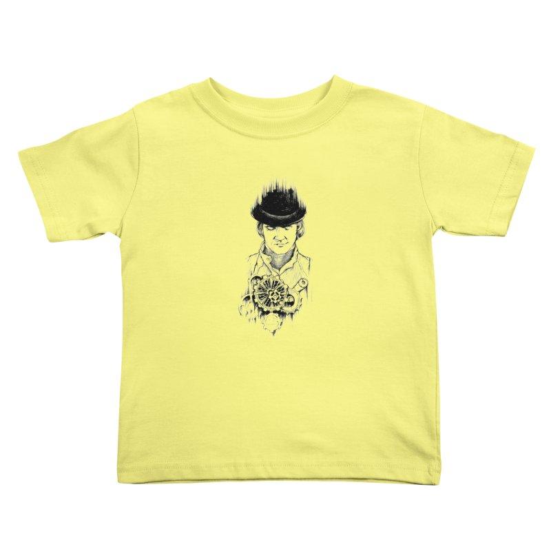 clockwork Alex Kids Toddler T-Shirt by Hasan's Crib