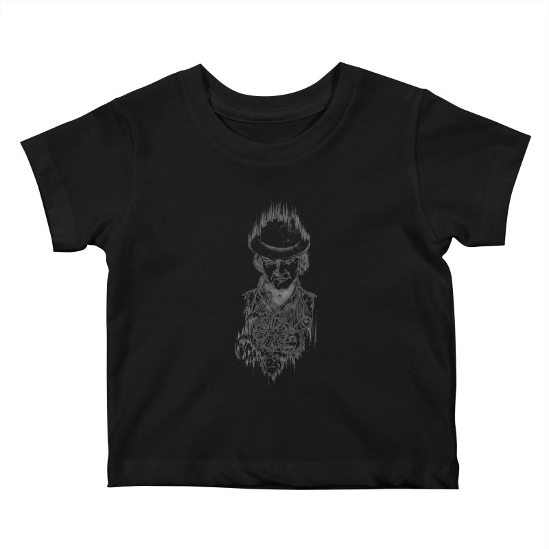 clockwork Alex Kids Baby T-Shirt by Hasan's Crib