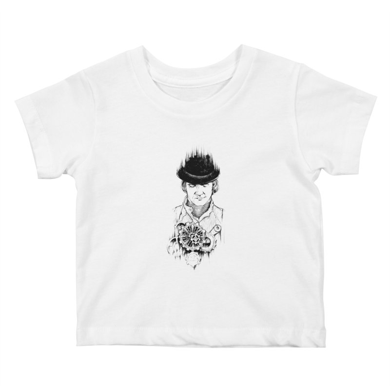 clockwork Alex Kids Baby T-Shirt by Hasan's Crib
