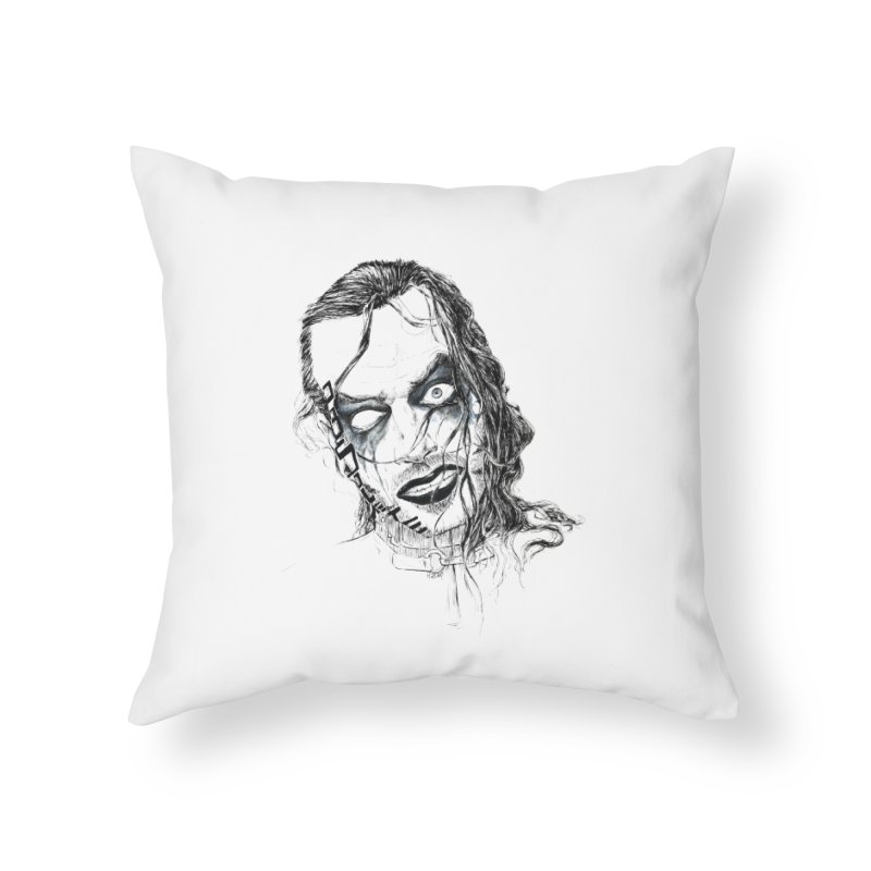 obsolete Brother Nero Home Throw Pillow by Hasan's Crib