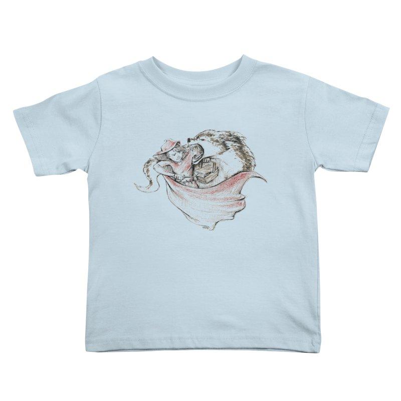 slay Thy Demons Kids Toddler T-Shirt by Hasan's Crib