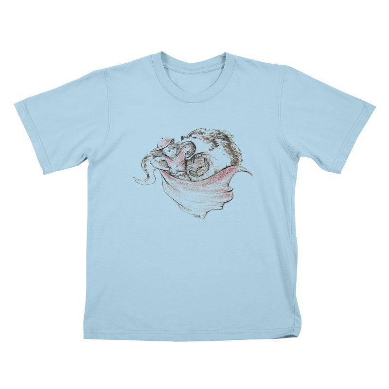 slay Thy Demons Kids T-Shirt by Hasan's Crib