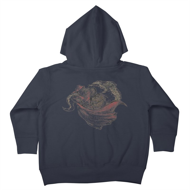 slay Thy Demons Kids Toddler Zip-Up Hoody by Hasan's Crib