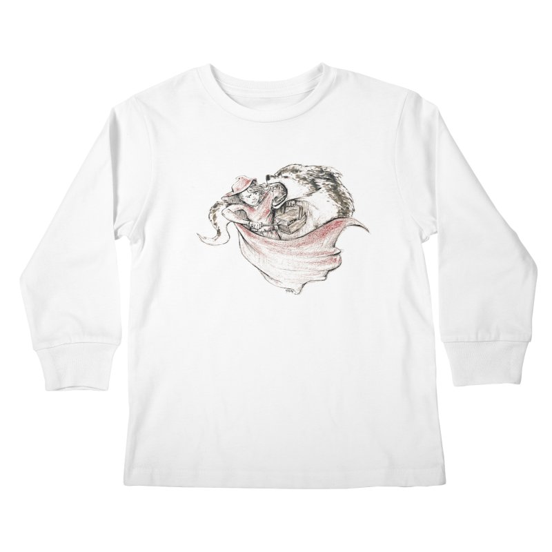 slay Thy Demons Kids Longsleeve T-Shirt by Hasan's Crib