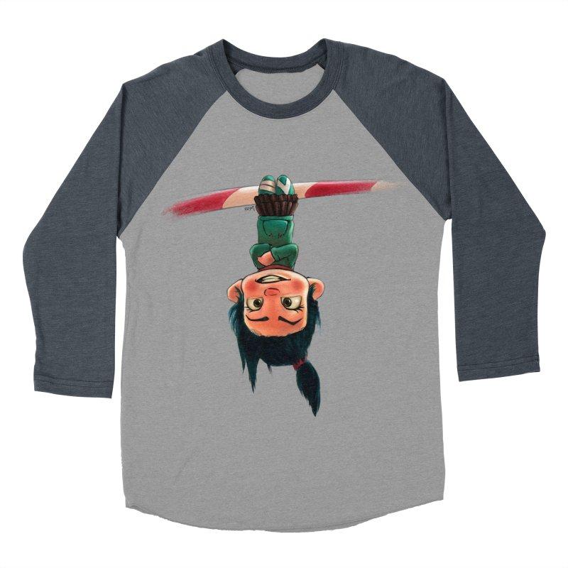 venelope Men's Baseball Triblend T-Shirt by Hasan's Crib