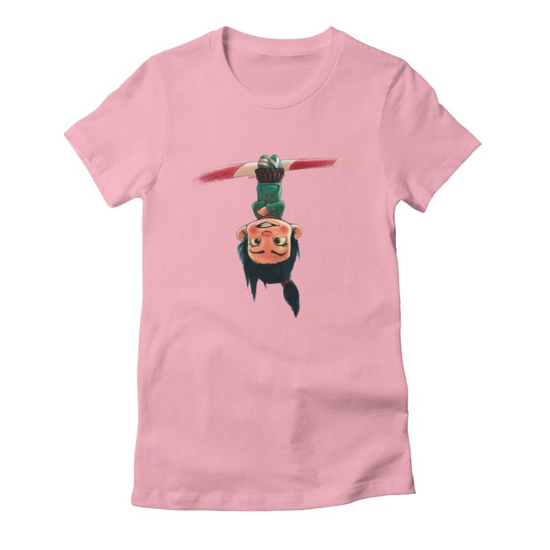 venelope Women's Fitted T-Shirt by Hasan's Crib