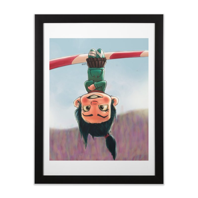 venelope Home Framed Fine Art Print by Hasan's Crib