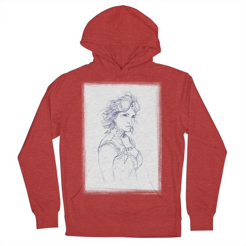 jessie Punk Women's Pullover Hoody by Hasan's Crib